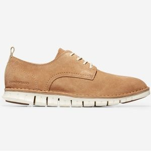 Cole Haan Men's Zerogrand Style Suede Tan Shoes